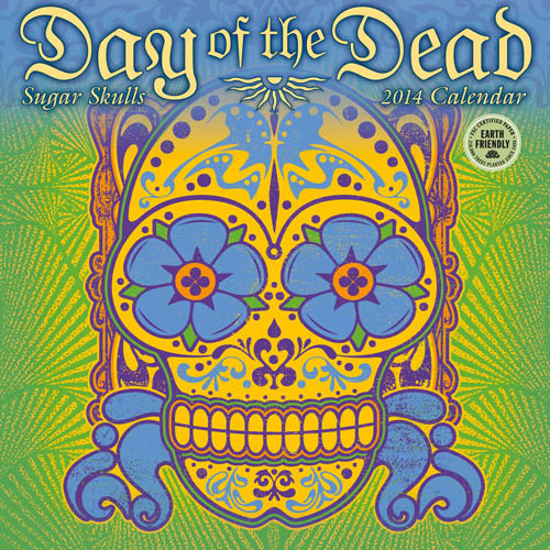 Day of the Dead 2014 Calendar