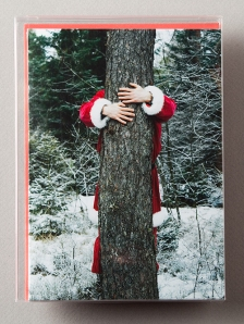 Tree-Hugging Santa
