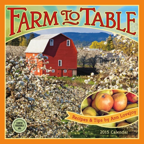 Farm to Table 2015 calendar