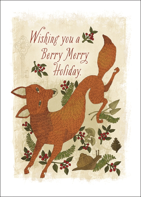 Holiday Boxed Cards - ABDG01