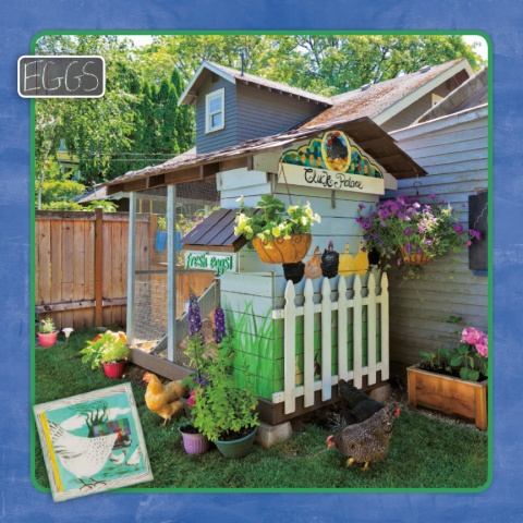 2015 City Chickens & their Coops wall calendar