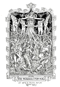 Walter Crane - The workers May Pole