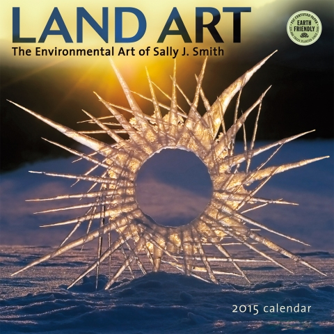 Land Art 2015 wall calendar