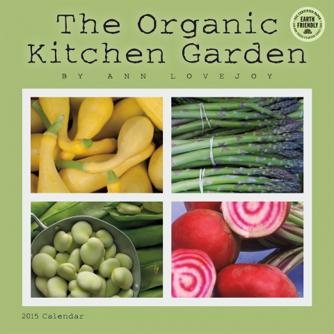 The Organic Kitchen Garden 2015 wall calendar