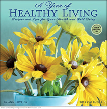 A Year of Healthy Living 2015 wall calendar