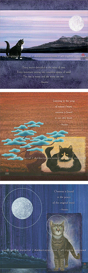 Zen Cat 2016 wall calendar