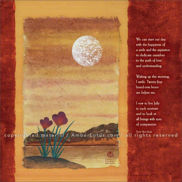 Thich Nhat Hanh 2016 wall calendar by Amber Lotus Publishing