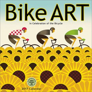 Bike Art wall calendar