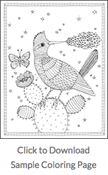 Free sample coloring page
